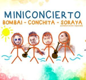 Concierto solidario: Bombai - Conchita - Soraya