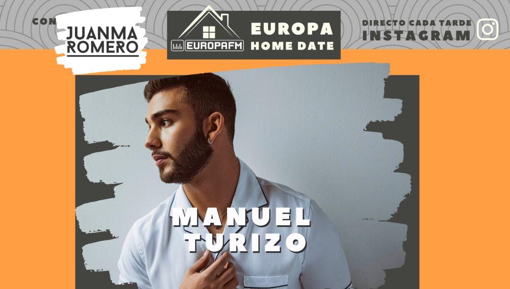 Manuel Turizo en Europa Home Date