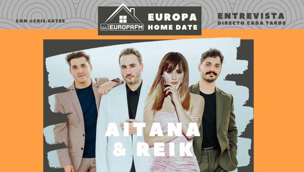 Aitana y Reik, en Europa Home Date