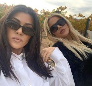 Khloè y Kourtney Kardashian