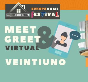 Consigue un meet&greet virtual con Veintiuno