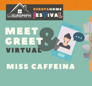 Consigue un meet & greet virtual con Miss Caffeina