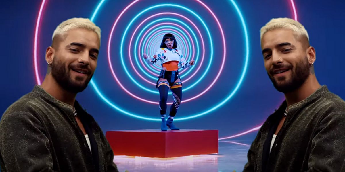 Maluma en el vídeo de Black Eyed Peas 'FEEL THE BEAT'