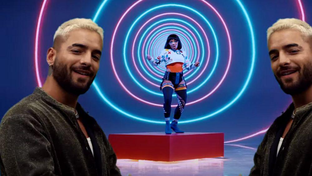 Maluma en el vídeo de Black Eyed Peas 'FEEL THE BEAT'