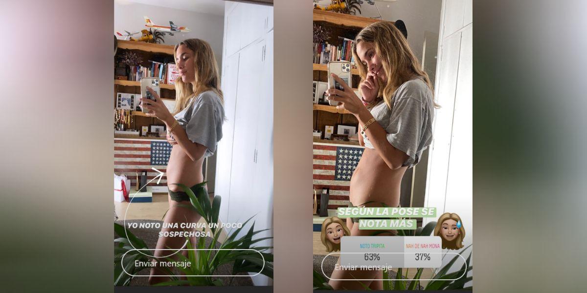 Primeras imágenes de María Pombo embarazada