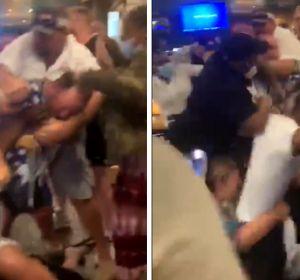 Una pelea por el distanciamiento social en un bar de Arkansas