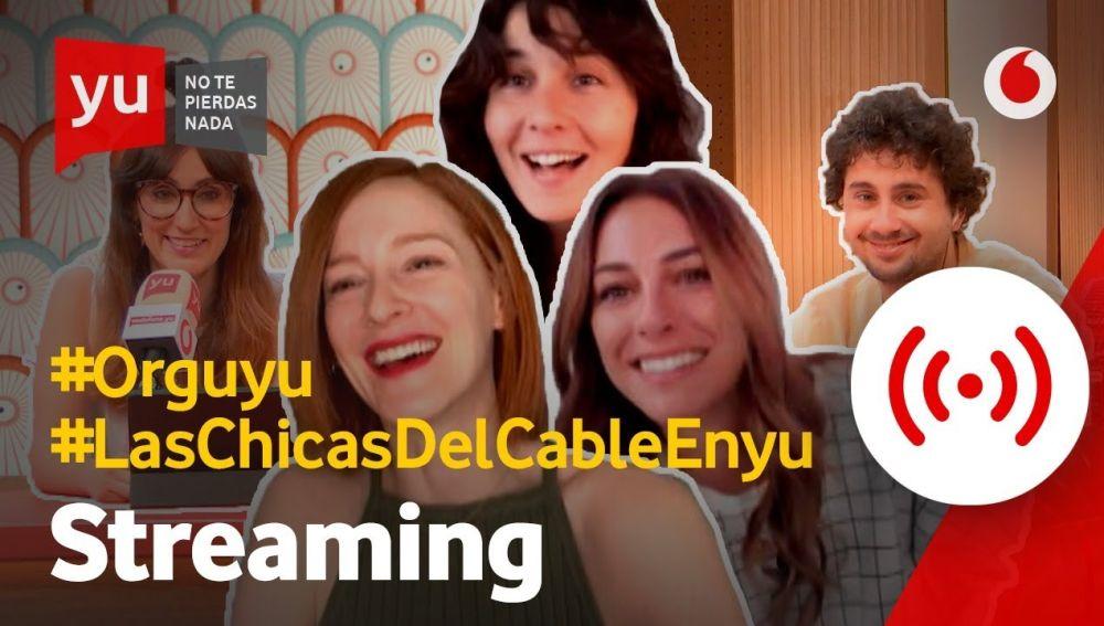 Con Blanca Suárez, Ana Polvorosa y Nadia de Santiago