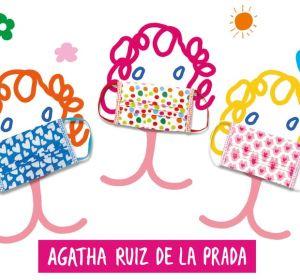 Mascarillas solidarias de Ágatha Ruiz de la Prada