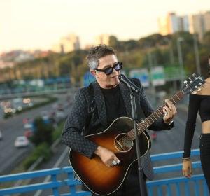 Imagen del concierto de Alejandro Sanz en el concierto de Moratalaz