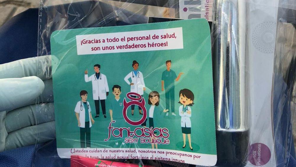 Kit sexuales para las enfermeras en un hospital de Tijuana