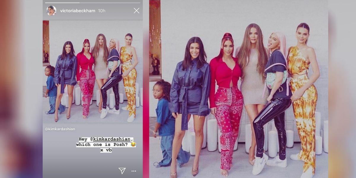 Victoria Beckham comparte una foto de las Kardashian