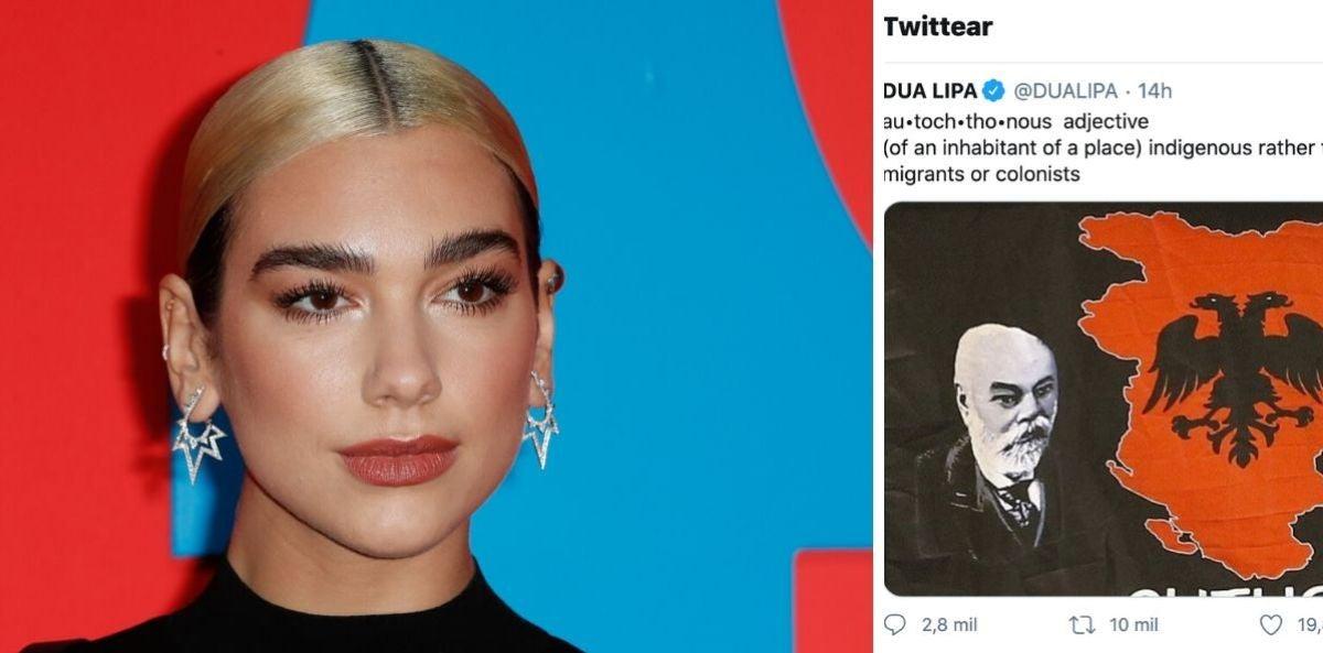 Dua Lipa y la polémica de su tuit... ¿nazi?