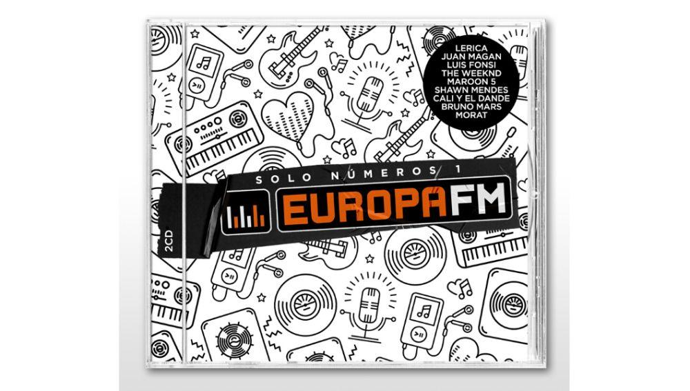 Elige la portada del nuevo disco de Europa FM: Opción B