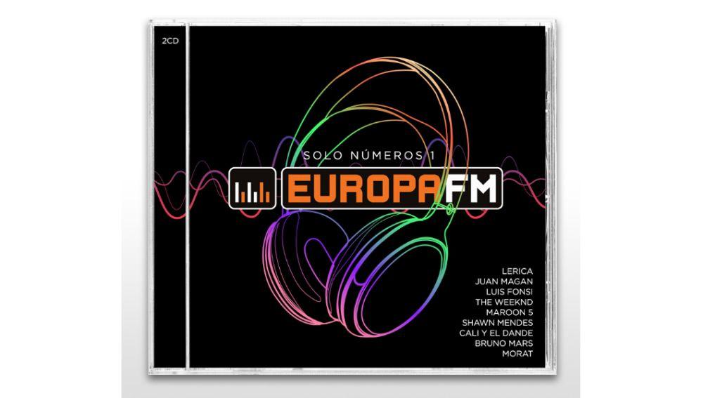 Elige la portada del nuevo disco de Europa FM: Opción A