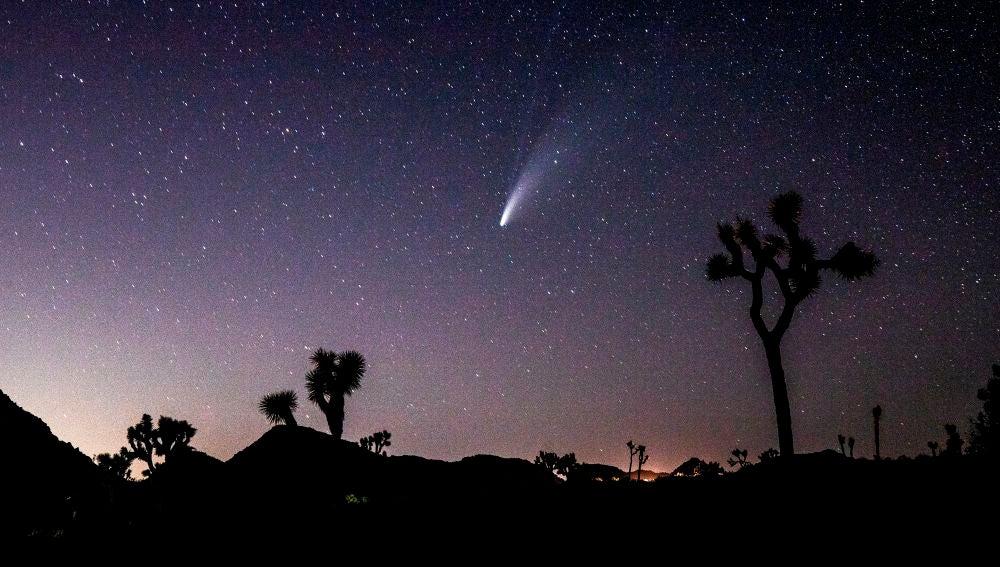 NEOWISE: las imágenes más espectaculares del cometa