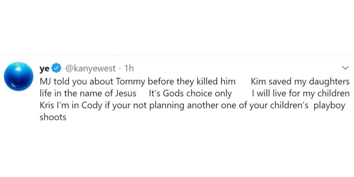 Kanye West en Twitter