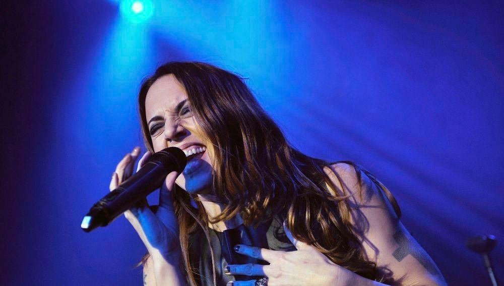 Melanie C durante una actuación