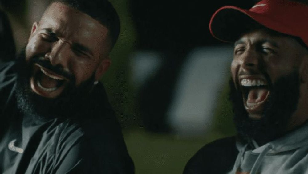 Drake y Lil Durk en el vídeo de 'Laught now, cry later'