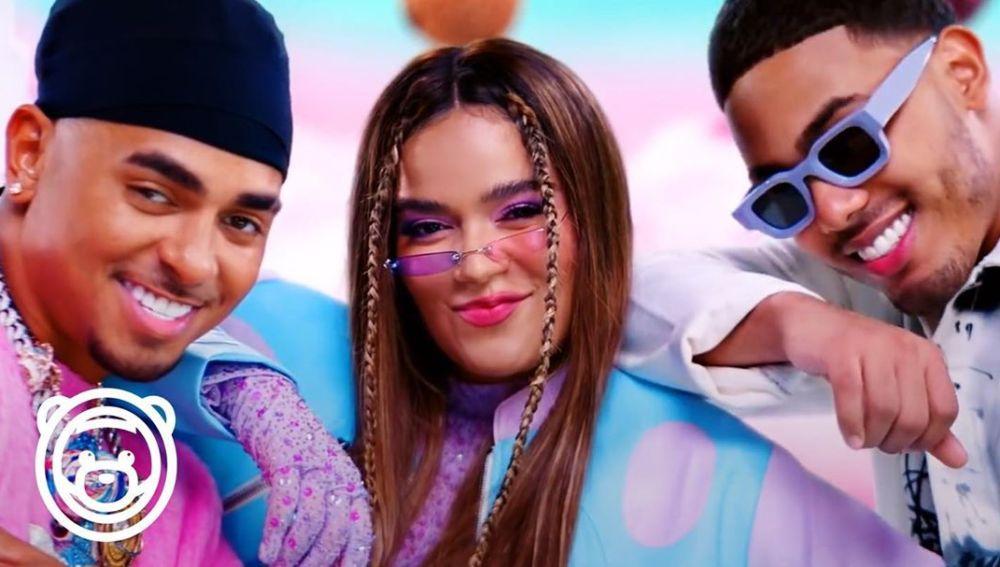 Karol G y Myke Towers se unen a Ozuna en 'Caramelo Remix'