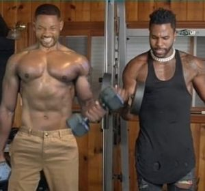 "El divertido ""entreno"" de Will Smith y Jason Derulo"