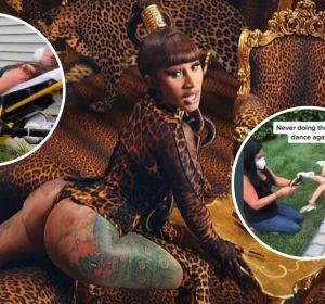 Lesiones por hacer el baile viral de 'WAP' en TikTok