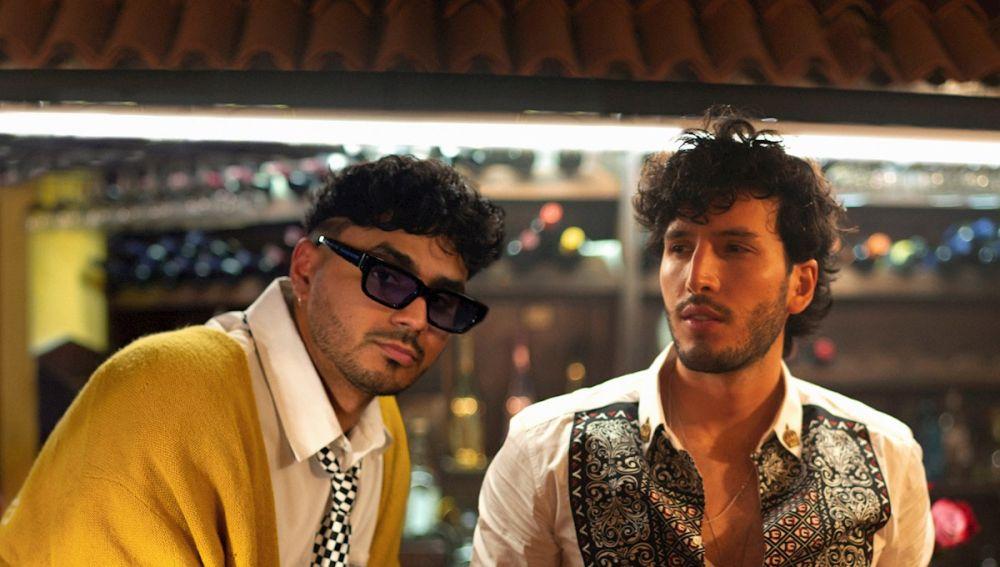 Álvaro Díaz y Sebastián Yatra