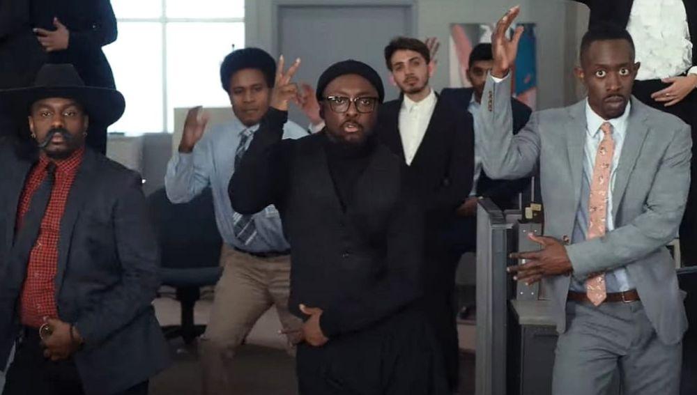 Will.I.Am en el vídeo de 'Vida Loca'