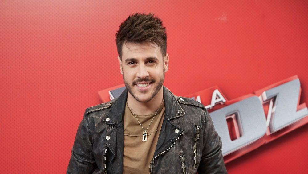 Antonio José durante la promoción de 'La Voz'