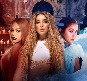 Danna Paola, Lola Indigo y Denise Roshental se unen en 'Santería'