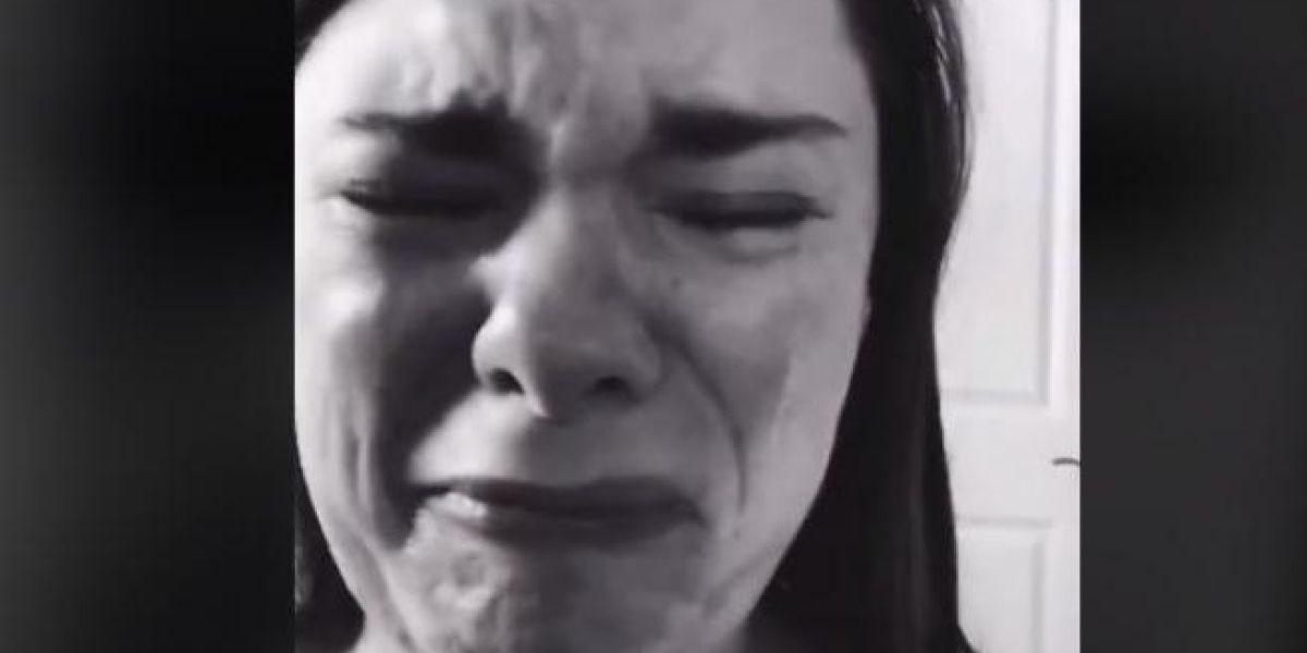El llanto viral de esta madre en TikTok