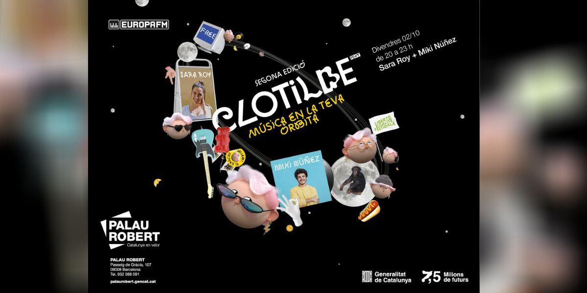 Clotilde Fest 2020 con Miki Núñez y Sara Roy