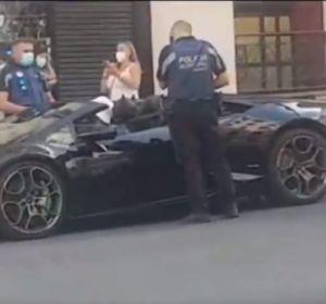 El hombre detenido en la Gran Vía cuando simulaba ser Batman