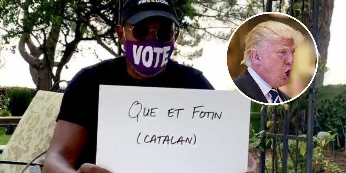 Samuel L Jackson manda al carajo a Trump en 15 idiomas diferentes