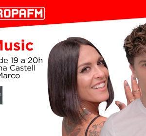 Lorena Castell y Carlos Marco en 'yuMusic'