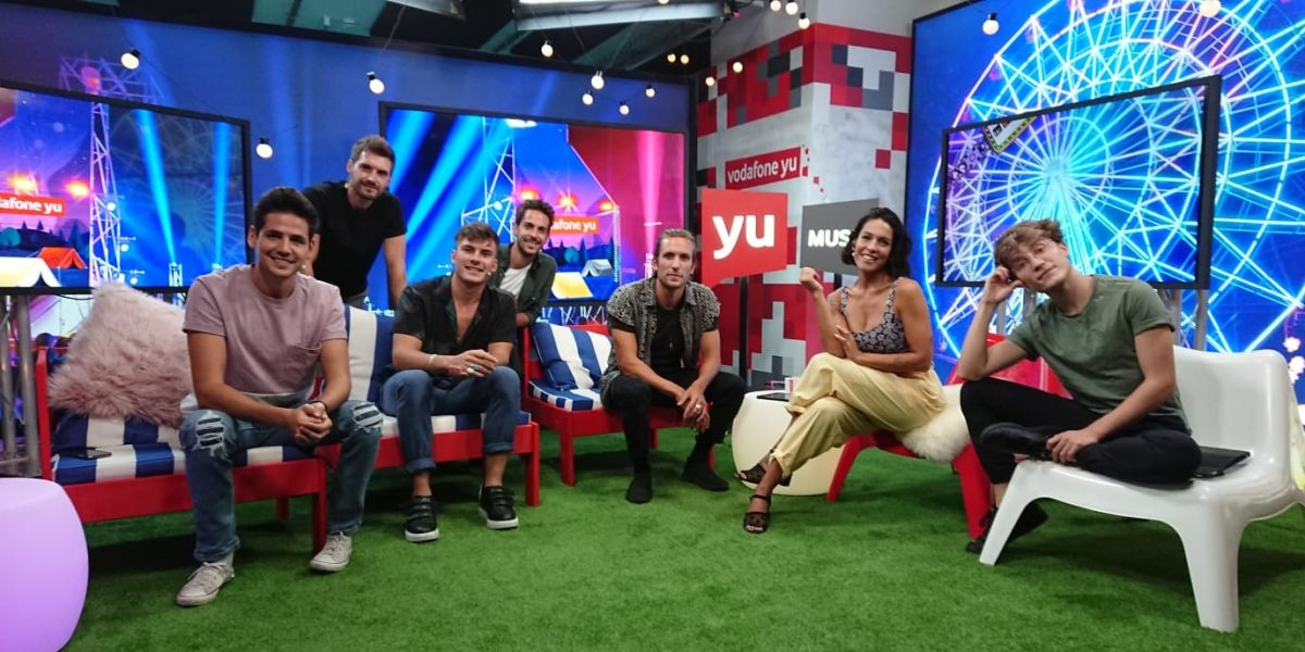 DVICIO con Lorena Castell y Carlos Marco en 'yuMusic'