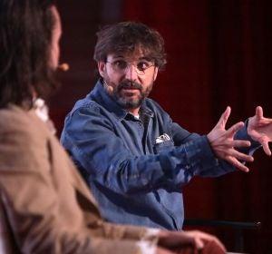 Santi Alverú y Jordi Évole en la rueda de 'Eso que tú me das'