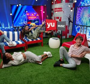 Angy Fernández, Lorena Castell, Ana Guerra y Carlos Marco en 'yu Music'