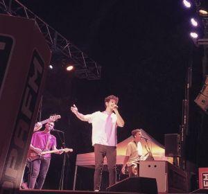 Miki Núñez durante su concierto en Clotilde Fest 2020