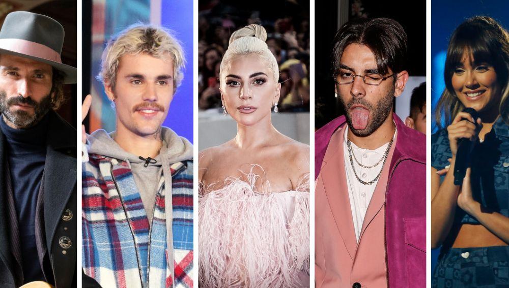 Leiva, Justin Bieber, Lady Gaga, Don Patricio y Aitana, nominados a los EMAs 2020