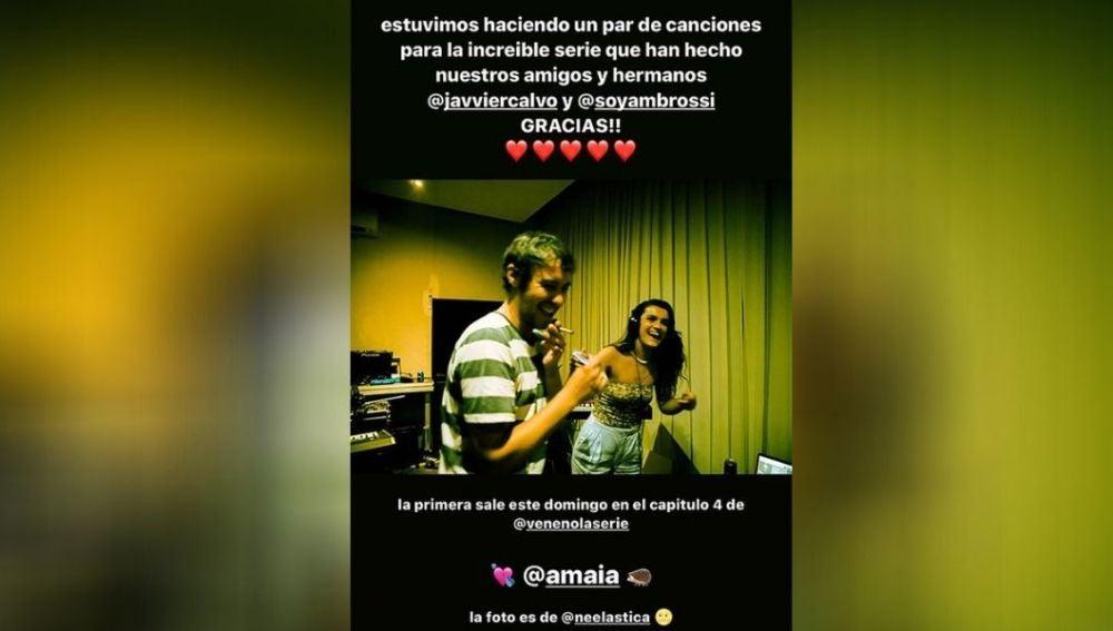 Álex de Lucas en Instagram