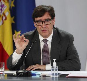 Salvador Illa tras el Consejo de Ministros