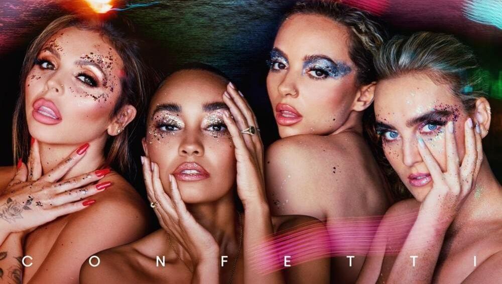 Portada de 'Confetti', el nuevo álbum de Little Mix