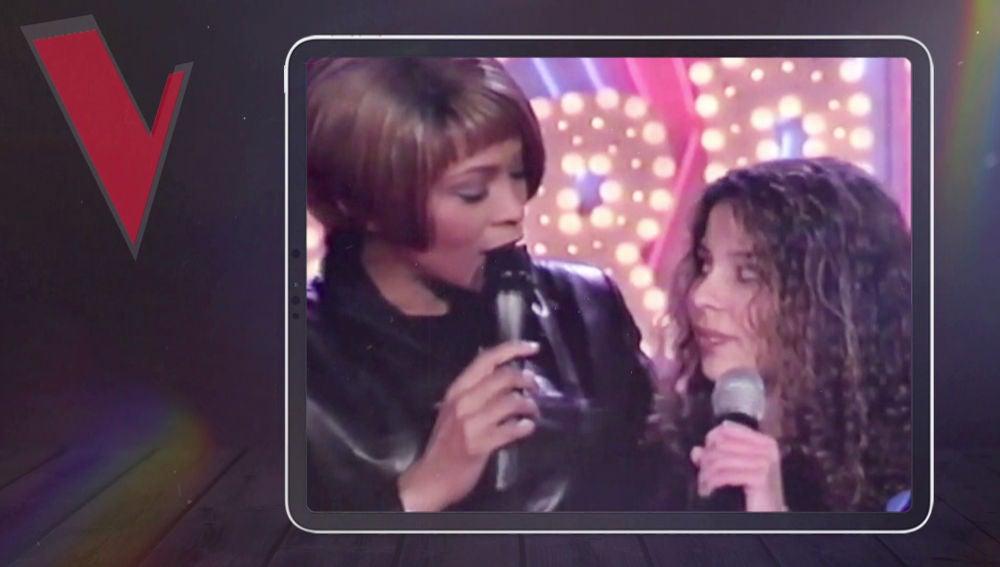 "Mireia Ortiz: ""Soy de las pocas personas que ha podido cantar con Whitney Houston"""