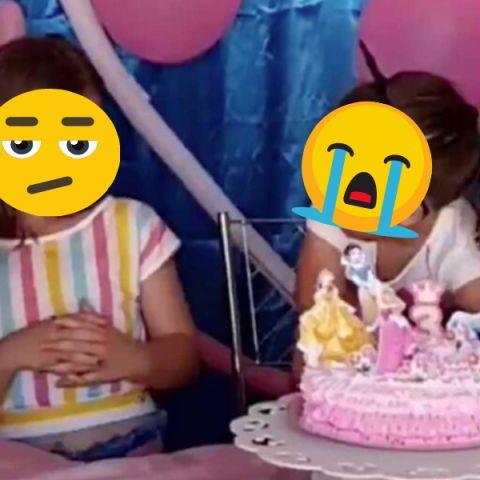 El vídeo viral de dos niñas soplando las velas de un pastel de cumpleaños