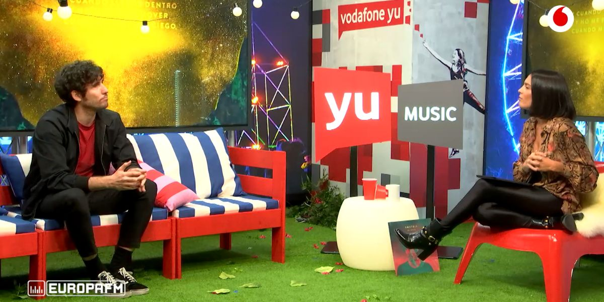 Amatria visita 'yu Music' con Lorena Castell