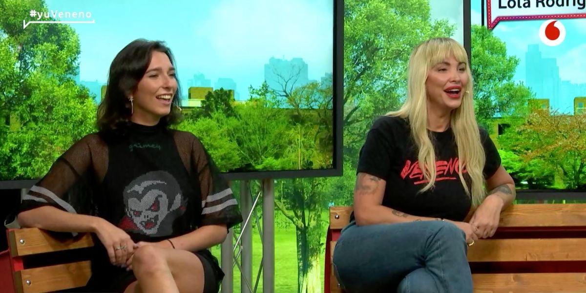 Daniela Santiago y Lola Rodríguez