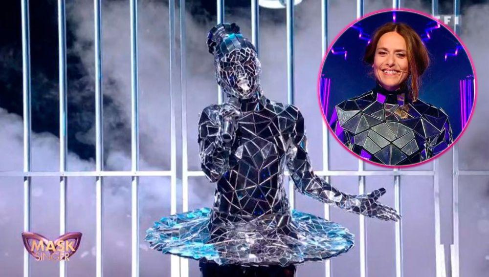 Itziar Ituño sorprende en 'Mask Singer' Francia cantando bajo la máscara de la bailarina