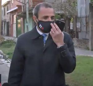 Roban el móvil de un reportero durante una conexión en directo