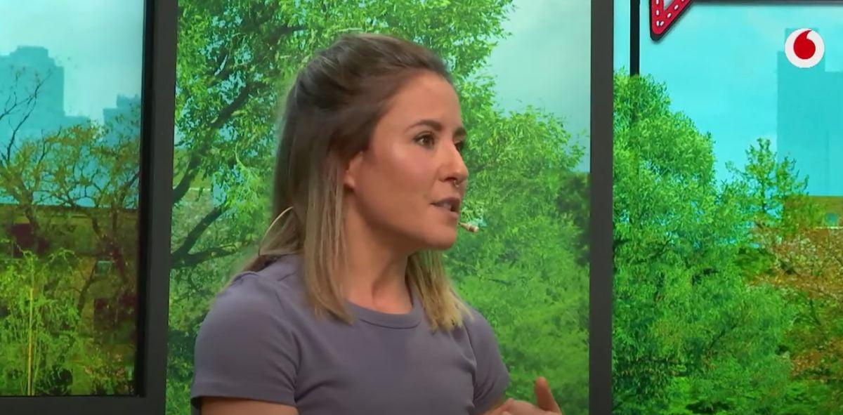 Elena Román en 'yu'