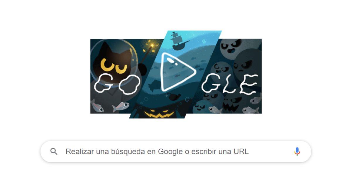 El entretenimiento de Google para Halloween